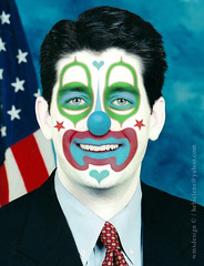 Paul Ryan (Rep. R-WI):: Obstructionist Republican Clown