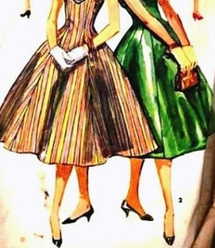 Dress Patterns on 1950 S Teenage Dress Pattern   Flickr   Photo Sharing