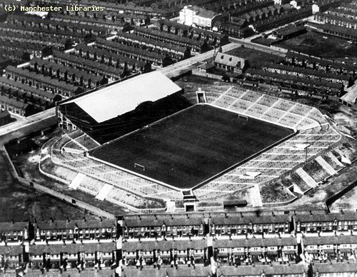 Aerial View of Maine Road