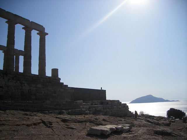 templo poseidón - cabo de sunion - grecia