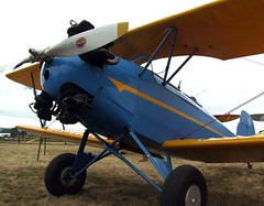 aviation, biplane, airplane, propeller driven aircraft, wing, vehicle, light aircraft, propeller, flight, ultralight aviation, aircraft engine,