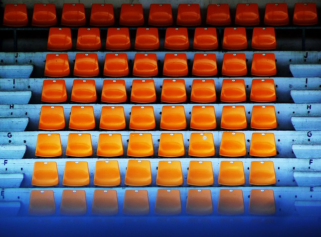 Seats of color...