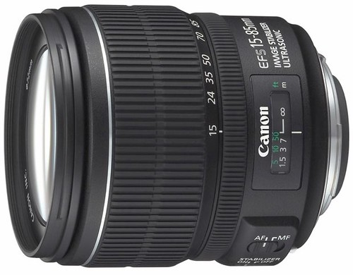 Canon EF-S 15-85mm F3.5-5.6 IS lens