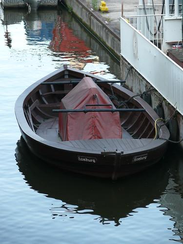 Feuerwehr-Spritzen-Boot