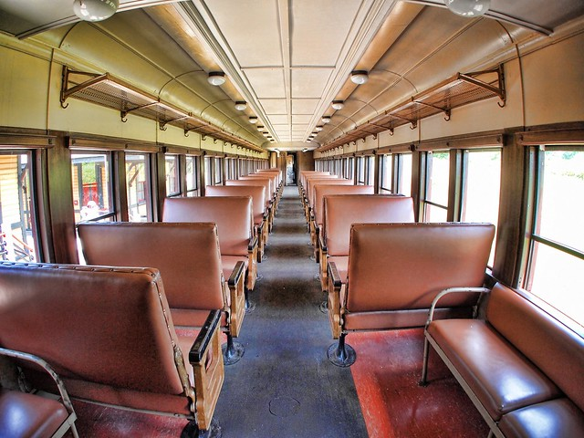 passenger train car interior images galleries with a bite. Black Bedroom Furniture Sets. Home Design Ideas