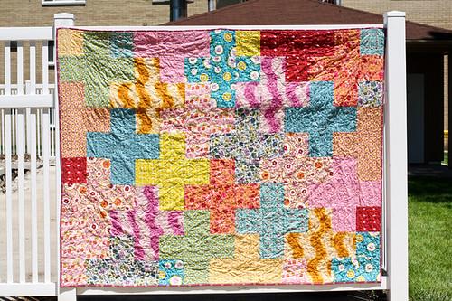 Folksy Flannels Plus Quilt by Jeni Baker