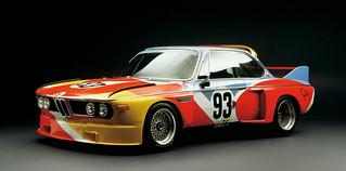 Alexander Calder 1975 Art Car BMW 3.0 CLS