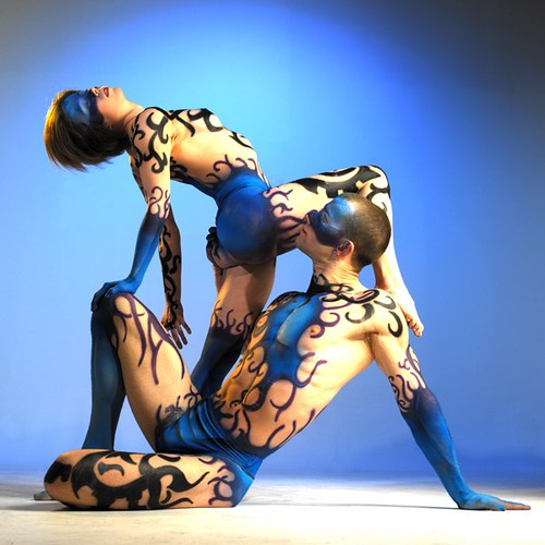 Body Painting : Couple