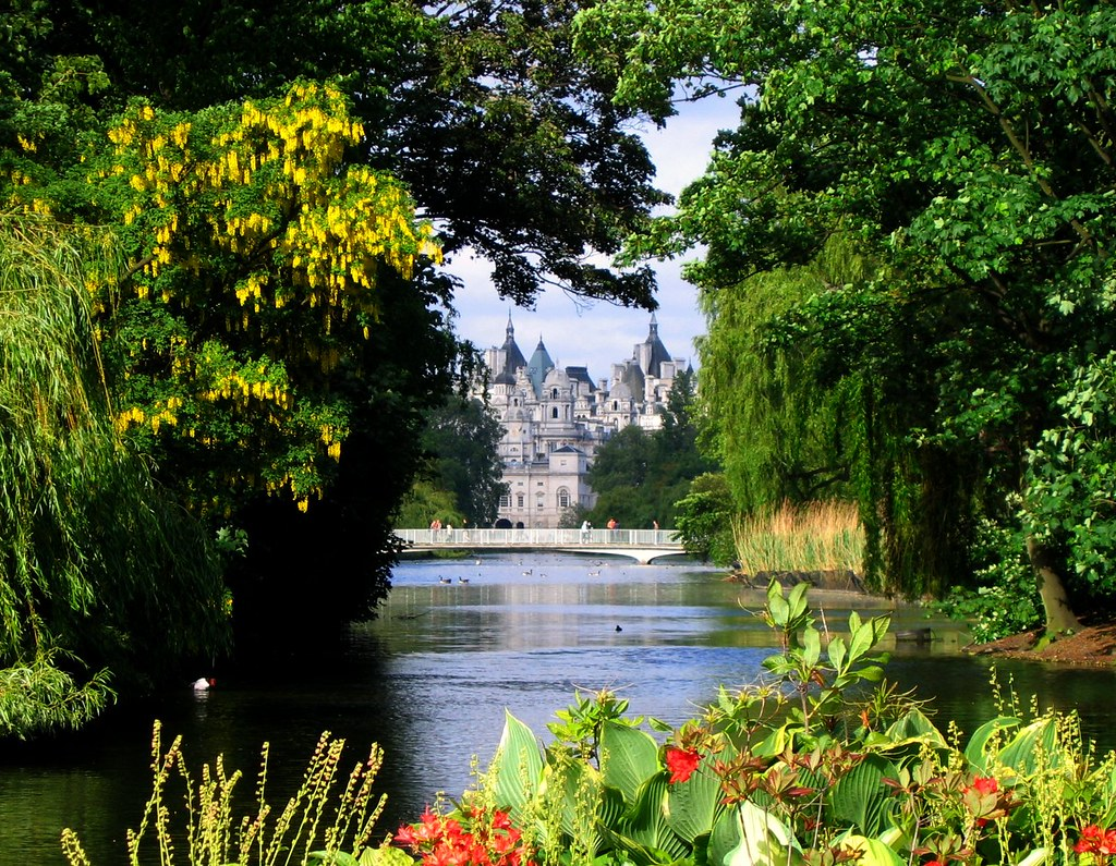 St. James Park, London, on a May Afternoon by UGArdener