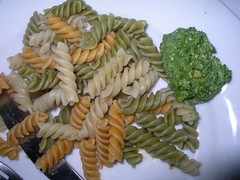vegetable(0.0), spaghetti(0.0), penne(0.0), produce(0.0), fusilli(1.0), vegetarian food(1.0), pasta(1.0), food(1.0), dish(1.0), rotini(1.0), cuisine(1.0),