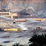 Temple of Hatshepsut from the air 1