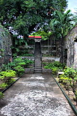 Stairs in Fort Santiago