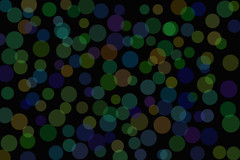 Dots, Blue and Green Background ~ Free