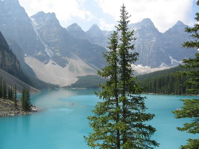 Lago Morraine, Montañas Rocosas, Canadá