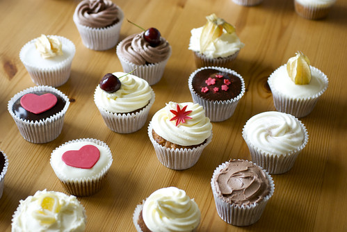 Cupcake selection by Gaetan Lee
