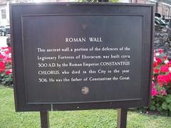 Photo of Constantius Chlorus black plaque