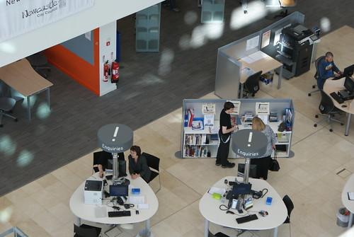 Newcastle City Library Enquiry Desks
