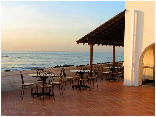 morning sea canon cafe daybreak razzmatazz subrata emptyseats s3is puducherry