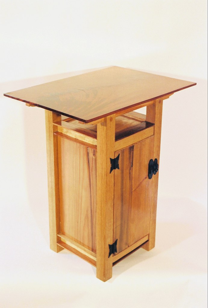 Small oak end table pub tables