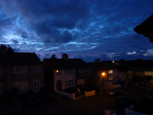 Clouds over West Kirby