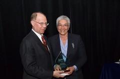 Jeffrey A Ernico and Award Recipient  Secretary Estelle B. Richman