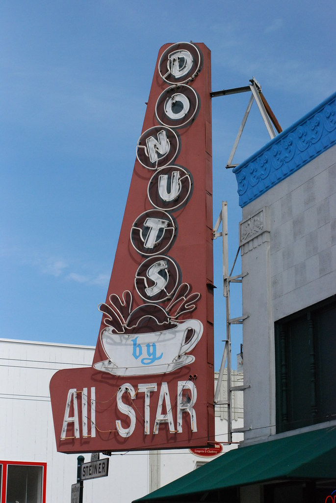 All Star Donuts - San Francisco, California U.S.A. - April 3, 2010