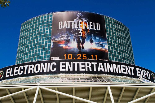 E3 Convention Center BF3 Banner
