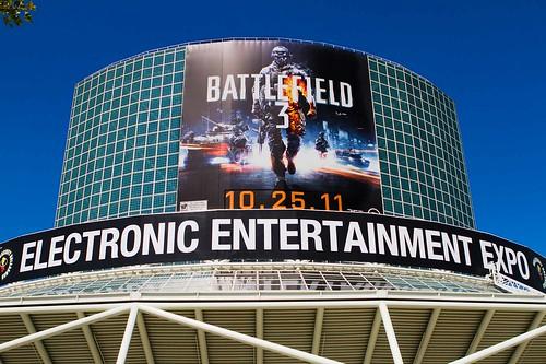 E3 Convention Center BF3 Banner