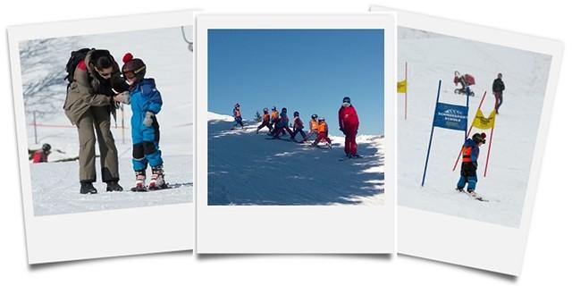 Skifahren im Angertal