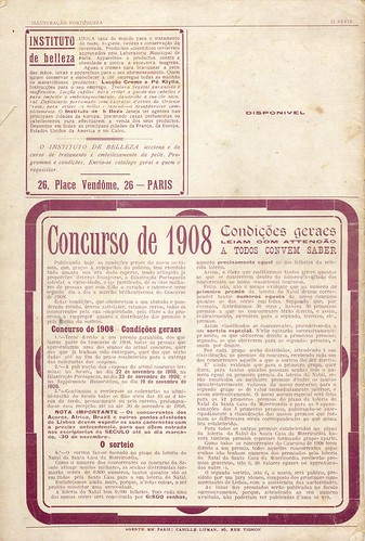 Illustração Portugueza, No. 133, September 7 1908 - back cover
