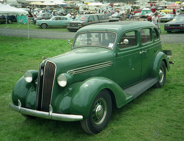 1936 Plymouth 4-door sedan