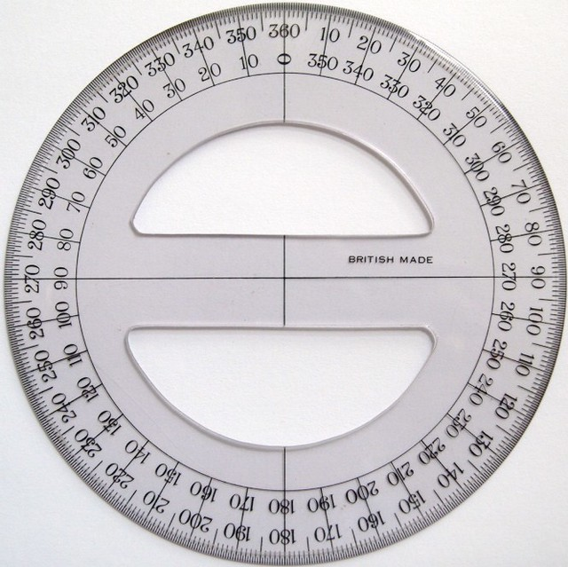 circular protractor template - printable protractor full circle full circle protractor