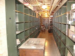 Empty shelves - David Dunlap Observatory