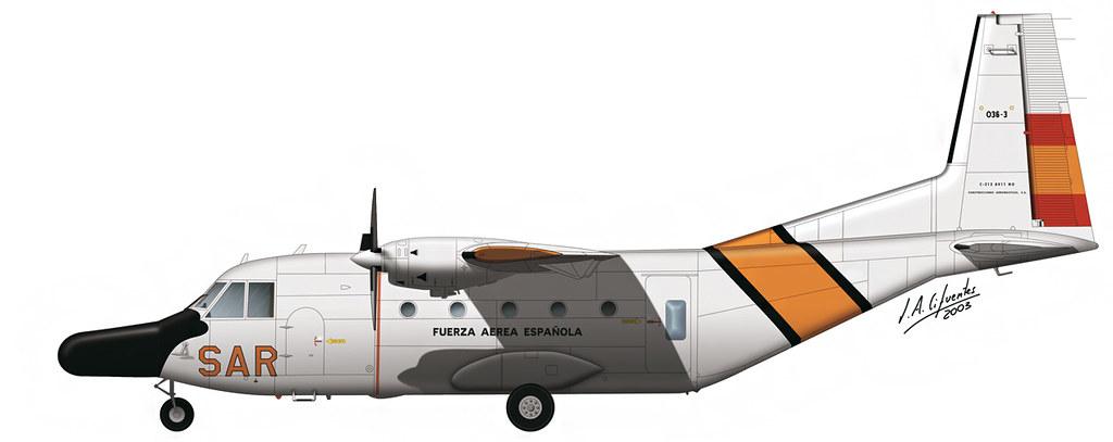 CASA C-212 SAR