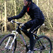 Gary Fisher on his Superfly, Chevin Cycles, Otley