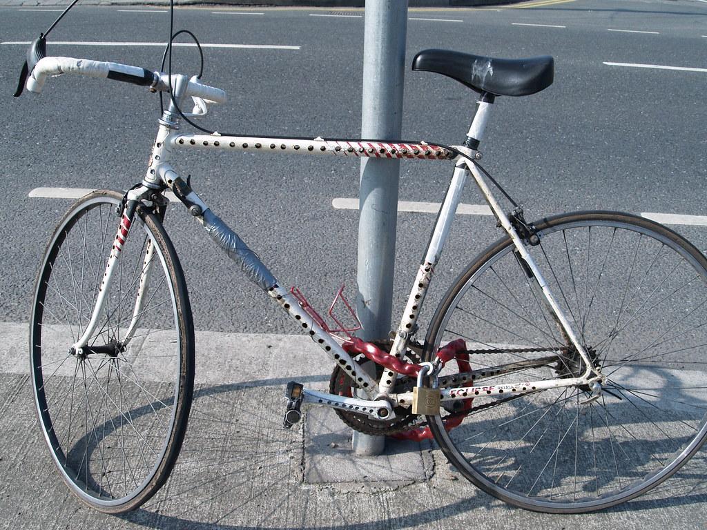 Drilled bike