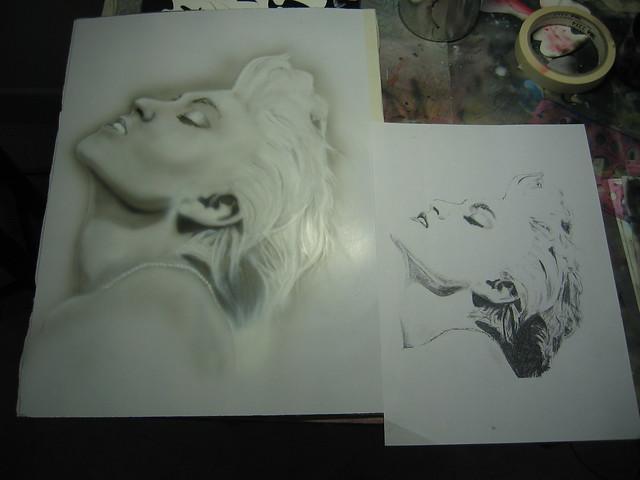 Madonna step 2