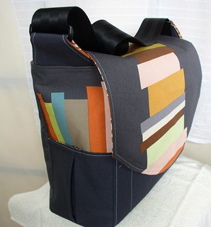 Stacked Books Diaper Bag