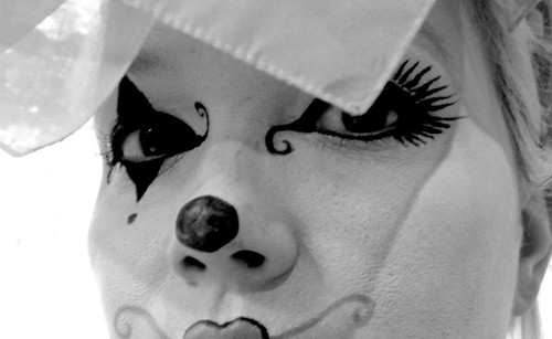 Harlequin Clown Makeup http://www.flickr.com/photos/33409582@N06/3838310250/