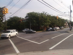 Commercial Avenue and George Street intersection