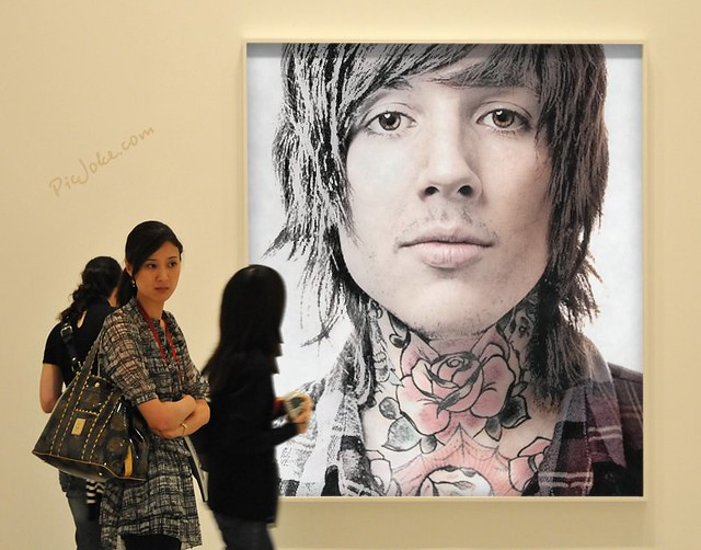 Oliver Sykes Neck Tattoo
