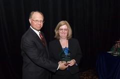 Jeffrey A. Ernico and Award Recipient  Lori A. Malloy, Esq.