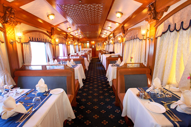 Peshwa Restaurant, Deccan Odyssey Train
