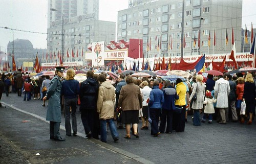 May Day Parade in Leipzig 1977 | by John Spooner