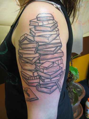 Stacks Of Books by Shannon Archuleta