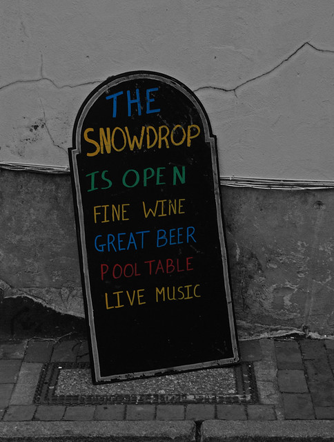 The Snowdrop Is Open!