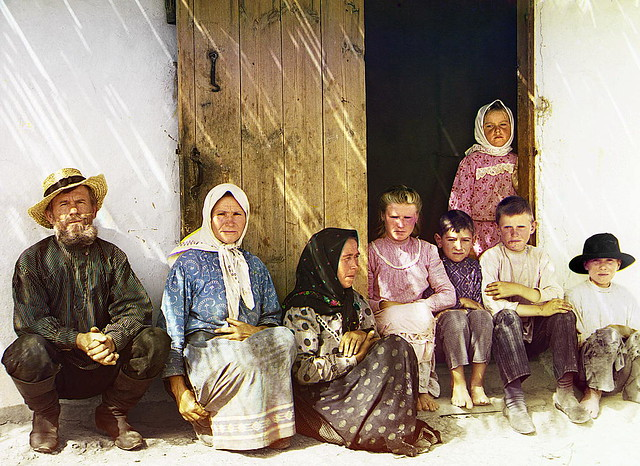 Mugan. Family settler. Grafovka village.