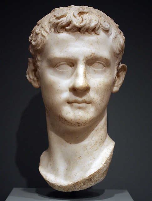 Caligula: Worcester Art Museum (front)