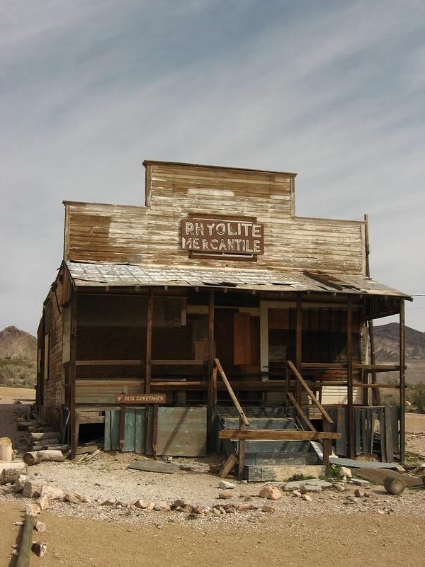 Rhyolite Mercantile, Ghost Town of Rhyolite, Nevada