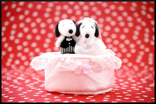 Snoopy Wedding